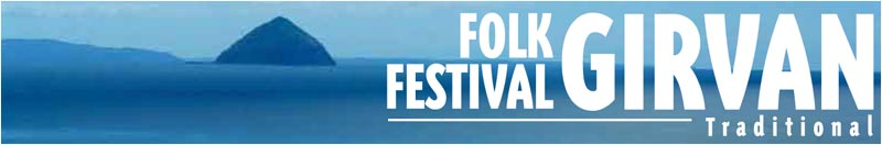 The Girvan Folk Festival header graphic