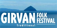 The Girvan Folk Festival - graphic link to main website