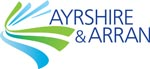 Ayrshire & Arran Tourism - graphic link to tourism website